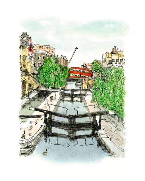Camden Lock by David Gentleman.