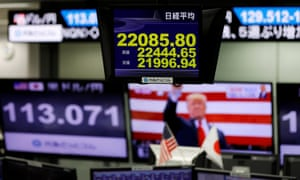 Dollar falls and Wall Street rallies as US election 'clips Trump's