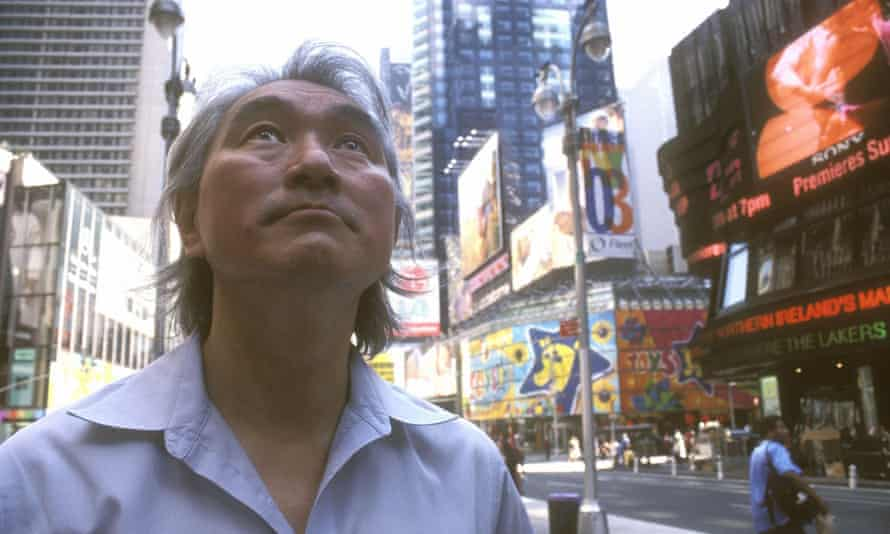 Professor Michio Kaku, pictured here in 2004, says that human teleportation may be possible within 100 years.