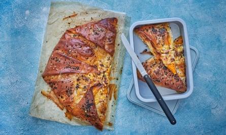 Claire Thomson's spiced filo pumpkin pie.