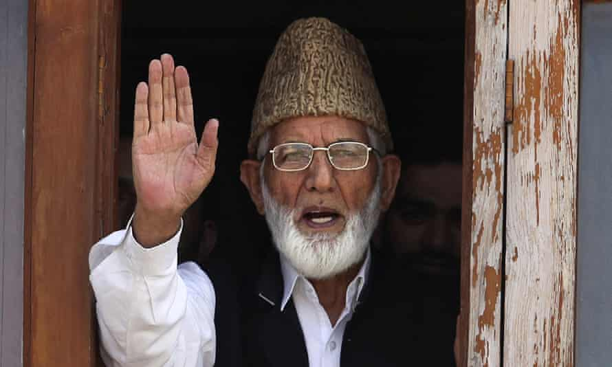 Syed Ali Shah Geelani, who has died, aged 91.