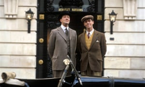 ITV ARCHIVEEDITORIAL USE ONLY / NO MERCHANDISING Mandatory Credit: Photo by ITV / Rex Features ( 866232kx ) 'Jeeves and Wooster' - Stephen Fry as Jeeves and Hugh Laurie as Bertie Wooster. ITV ARCHIVE