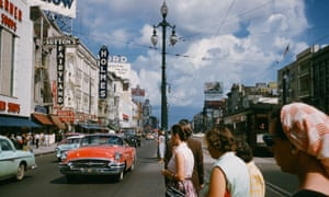 A thriving Canal Street in New Orleans, Louisiana, in 1957. Now the banking sector is turning away from investing in new businesses and is focusing on securitising assets.