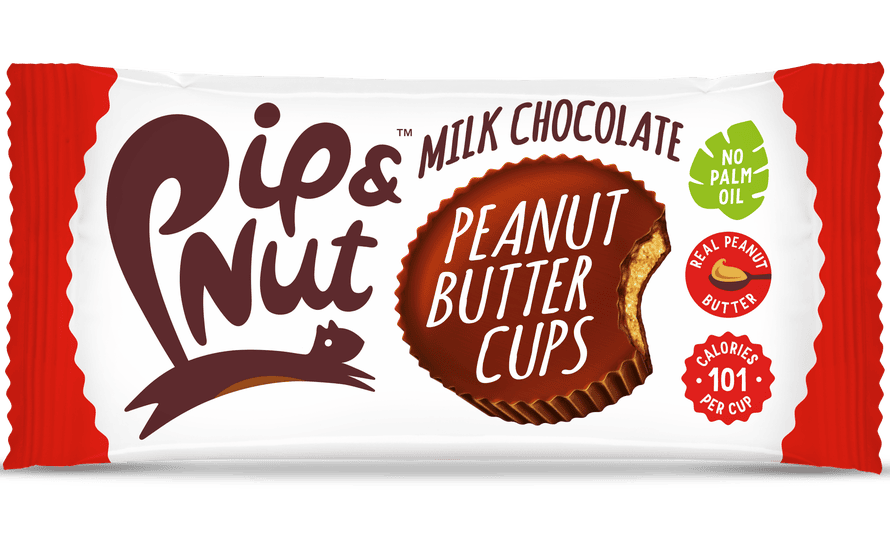 Nuts about them: Pip & Nut's peanut butter cups.
