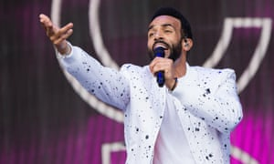 Craig David at Glastonbury: 'There was such a widespread demographic of people in the crowd.'
