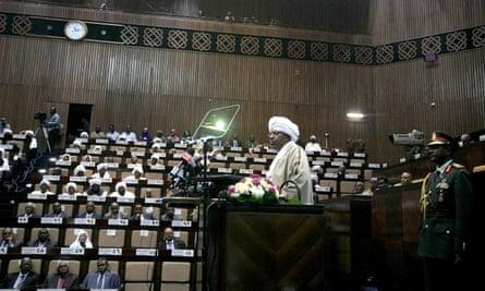 Sudanese President Omar al-Bashir