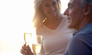 Couple Drinking Champagne