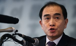 Thae Yong Ho, a former minister at the North Korean Embassy in London who defected to South Korea in 2016.