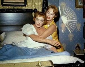 Bette Davis and Olivia de Havilland