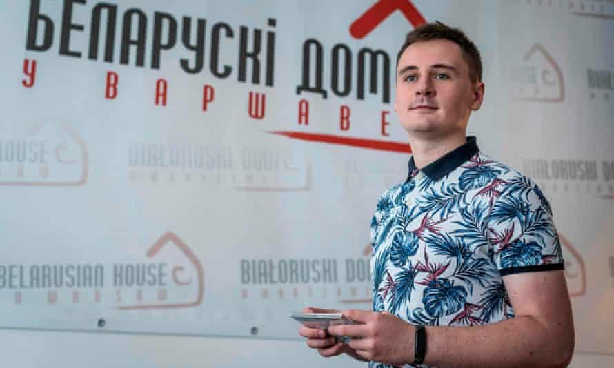 Stepan Svetlov, creator of the Nexta channel.