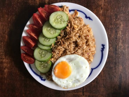Pat Tanumihardja's nasi goreng: it's the kecap manis and shrimp paste that 'sets nasi goreng apart'.