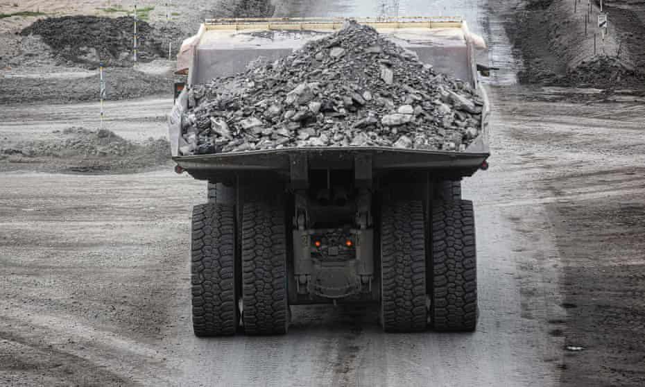 A coal truck at a mine near Muswellbrook, NSW
