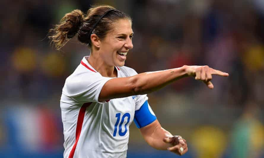US women's team captain Carli Lloyd. The agreement was ratified by the players and US Soccer's board on Tuesday.