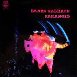 Black Sabbath's second LP, Paranoid