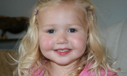 Mitzi Steady, four, who was killed when the 32-tonne truck careered out of control.