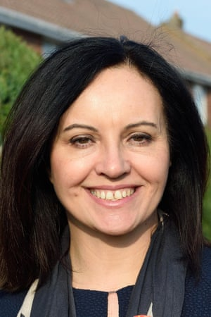 Caroline Flint in Swindon to support the local Labour Candidate