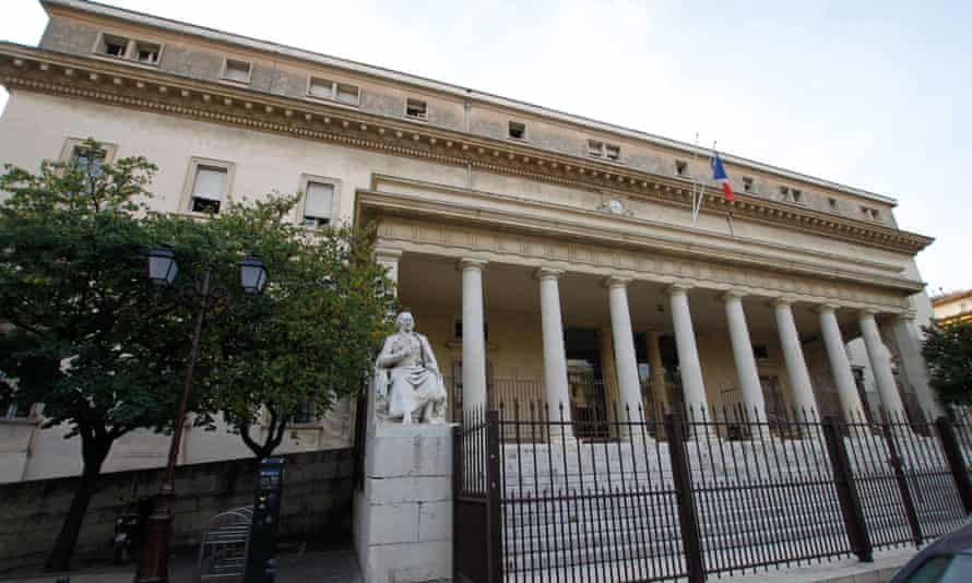 The palais de justice in Aix-en-Provence, where Sean O'Neil was found guilty of multiple rape and of corrupting minors.