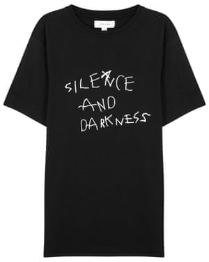 Silence and darkness T-shirt £45 soulland harveynichols.com