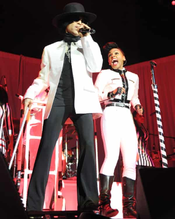 Performing with Prince in 2013