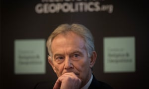 Tony Blair at the event in Westminster organised by Prospect magazine.