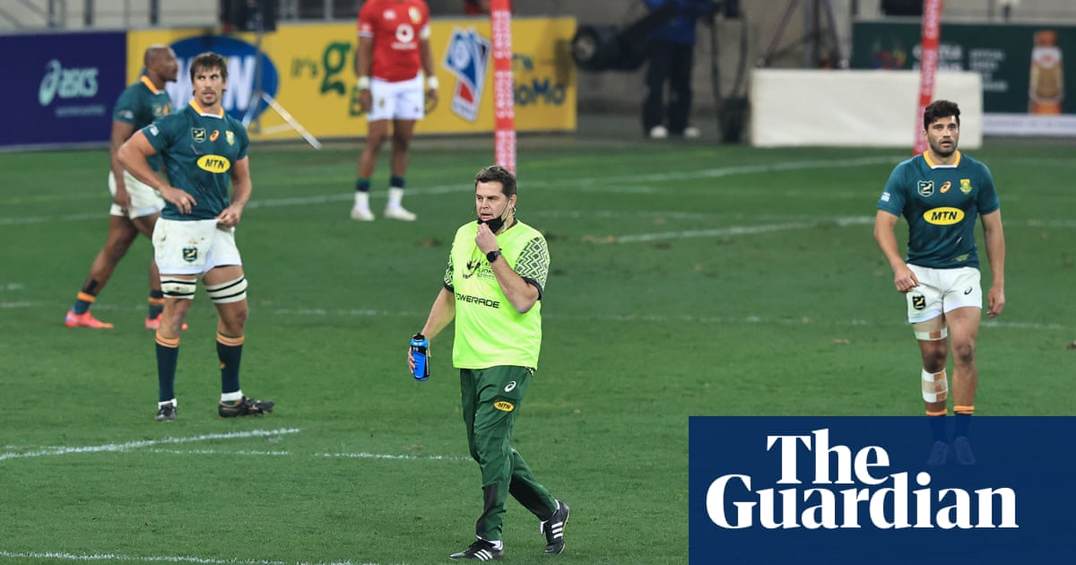 Rassie Erasmus to remain South Africa's director of rugby for final Lions Test