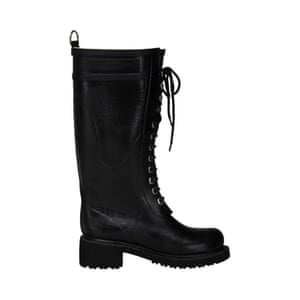 Black wellington boots, £115, by Ilse Jacobsen, from coggles.com.