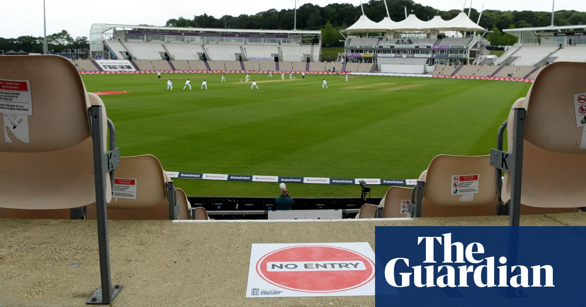 Drizzle, bubbles and a dystopian feel greet Test crickets new normal
