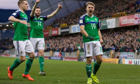 Northern Ireland ease past Norway after early strike from Jamie Ward