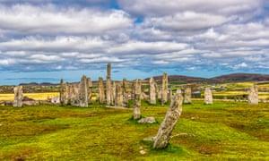 Callanish Standing Stones in Isle of Lewis, Scotland