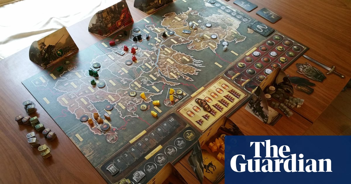 Blood On The Living Room Table Why I Still Love The Game Of Thrones Board Game Games The Guardian