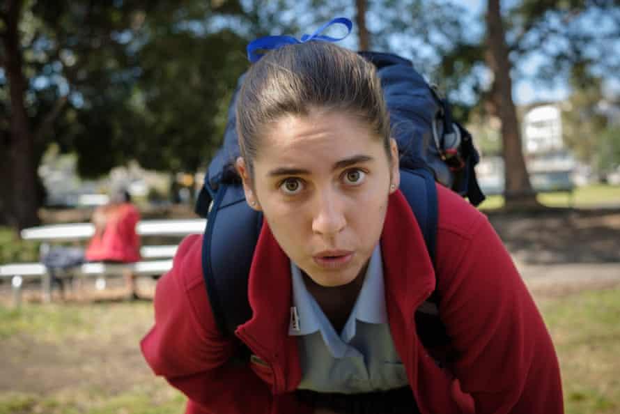 Nathalie Morris as Oly in Bump