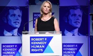 Kerry Kennedy speaks at the Ripple of Hope awards dinner in New York on 13 December 2017.