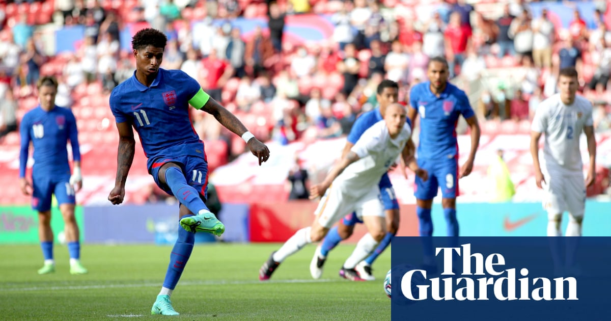 Marcus Rashford delivers England win over Romania in final Euro warm-up