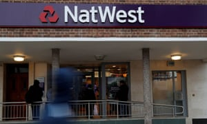 A branch of NatWest, part of the RBS group, in London.