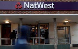 A NatWest Bank branch in Enfield, London .