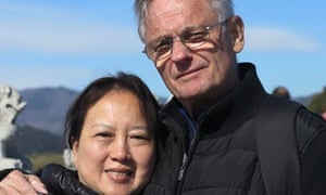 Garry Ridder and his wife, Lin, from Cooma, are trapped in Wuhan, China during the coronavirus outbreak