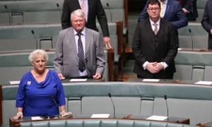 Michelle Landry in parliament