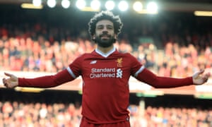 new product 033aa 44d42 Mohamed Salah signs new Liverpool contract to 2023 and is ...