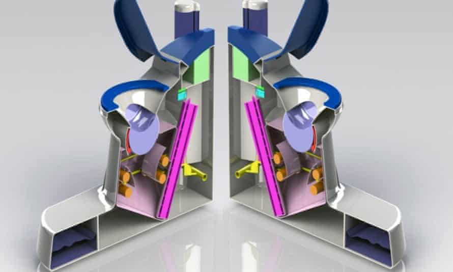 diagram of the nano membrane toilet