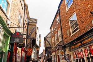 Little Shambles, Streets of York, Yorkshire, Great Britain