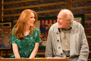 Catherine Tate, Timothy West in The Vote, 2015