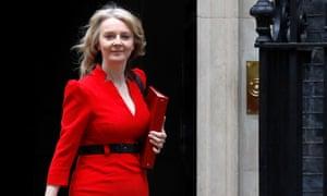 The chief Secretary to the Treasury Liz Truss