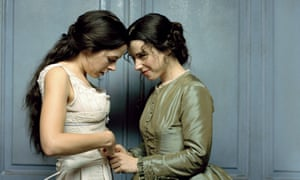 Love conquers all … Elaine Cassidy and Sally Hawkins in the 2005 BBC TV adaptation, Fingersmith.