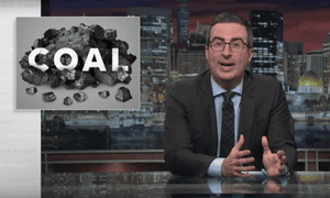 John Oliver understands the importance of communicating the expert consensus on human-caused global warming.