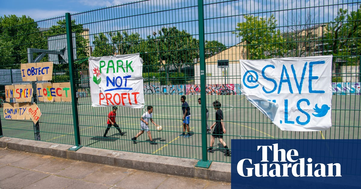 Protests grow against new council homes on green spaces in London