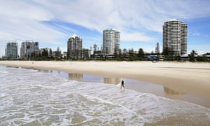 The Queensland border town of Coolangatta. The state is aiming to reopen its borders to the rest of Australia on 10 July, while South Australia has announced it will be reopening 20 July.