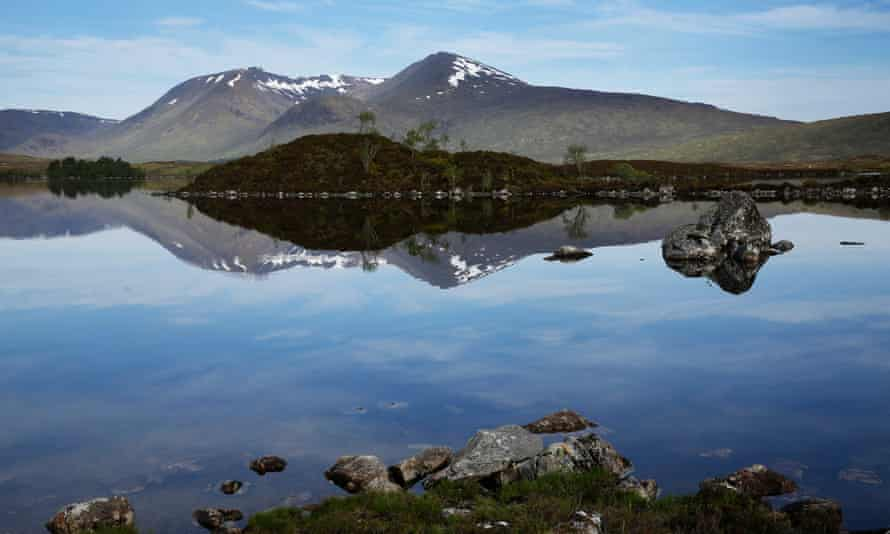 The Scottish Highlands is one of the remote corners of the UK proving popular.