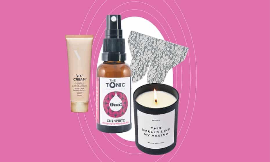 Illustration of vulva products