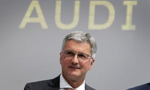 """Audi chief executive Rupert Stadler has been arrested over the Volkswagen's """"dieselgate"""" emissions cheating scandal."""