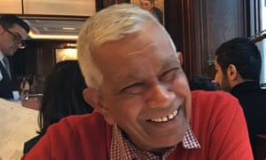 Ranjith Chandrapala, 64, driver of the 92 bus who died from Covid-19 at Ealing Hospital on 3 May